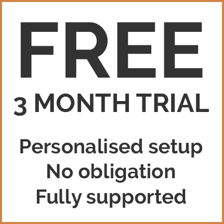 Free three month trial of chalet management software