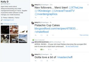 13 Twitter Tips to Market your Chalet Company