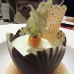 Auberge de Cassiel Genepi Ice Cream