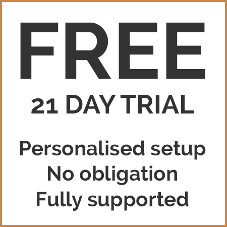 Free 21 day trial of chalet management software
